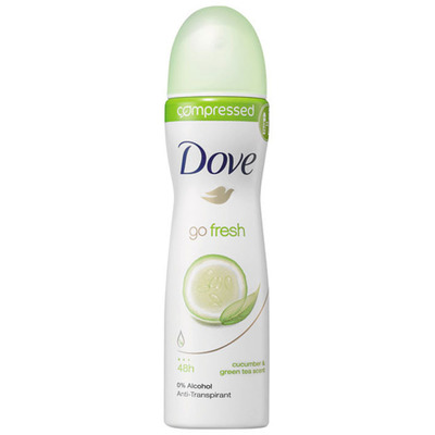 Dove Deodorant spray go fresh cucumber