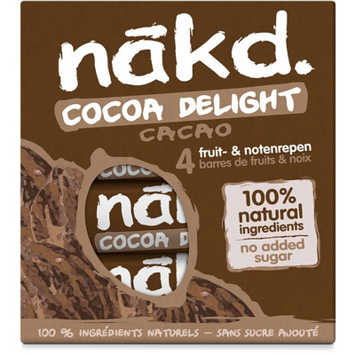 Nakd Cocoa delight fruitreep met noten