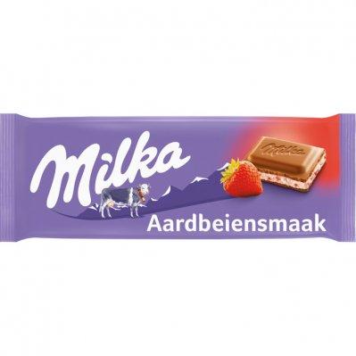 Milka Aardbei yoghurt