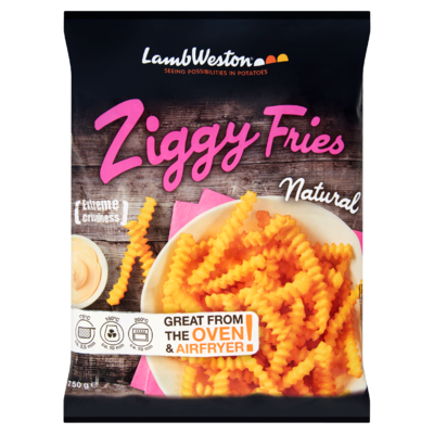 Lamb Weston Ziggy Fries Natural 750 g