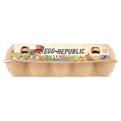 Egg-Republic Klasse A 10 Scharreleieren XL
