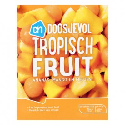 Huismerk Tropische fruitmix