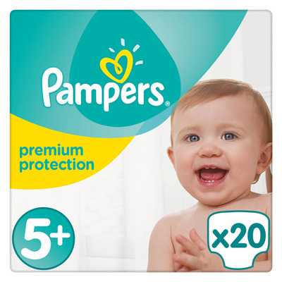 Pampers Premium protection junior maat 5+