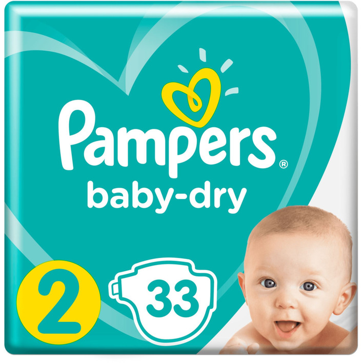 Pampers Baby dry maat 2