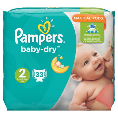 Pampers Baby dry Mini maat 2