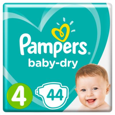 Pampers Luiers GVP Baby Dry maat 4