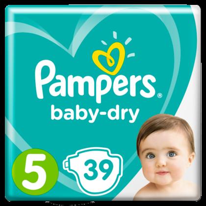 Pampers Luiers GVP Baby Dry maat 5