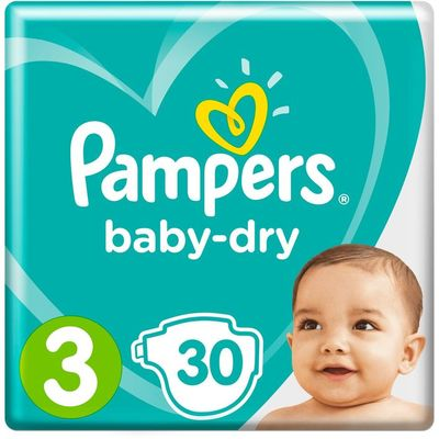 Pampers Baby dry maat 3