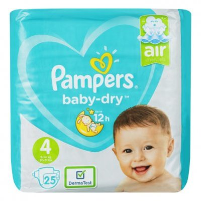 Pampers Baby dry maat 4