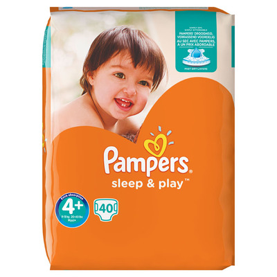 Pampers Sleep & play maxi 4+