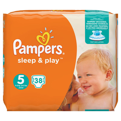 Pampers Sleep & play junior 5
