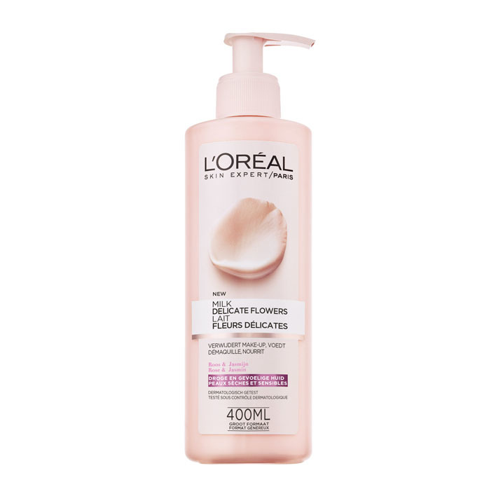 L'Oréal Dermo expertise flowers cleansing milk