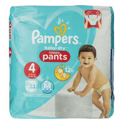 Pampers Baby-dry pants maat 4