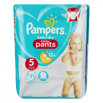 Pampers Baby-dry pants maat 5