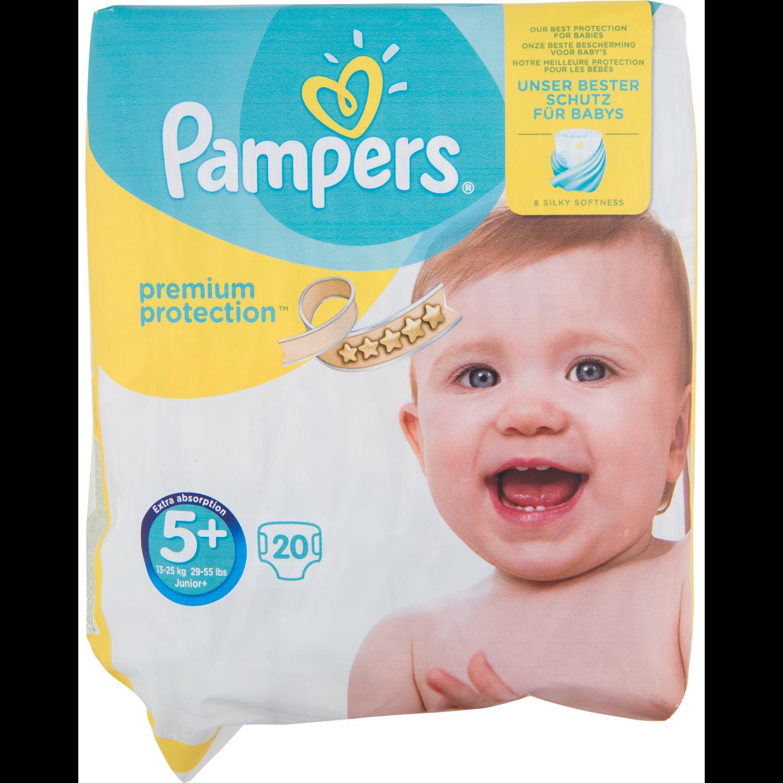 Pampers Premium protection junior+
