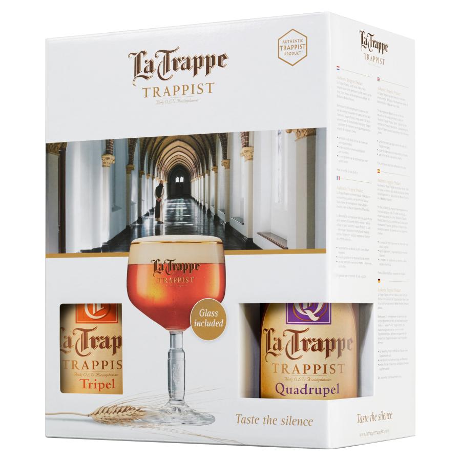 La Trappe Geschenkverpakking bier 4x 33 centiliter