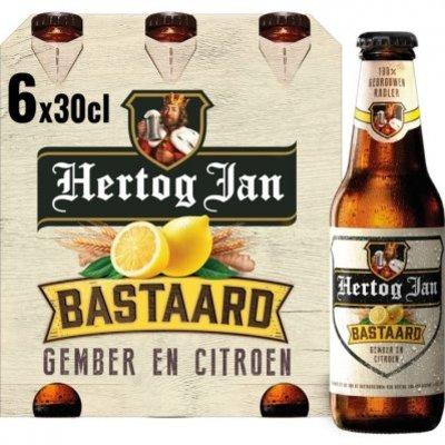 Hertog Jan Bastaard radler gember en citroen