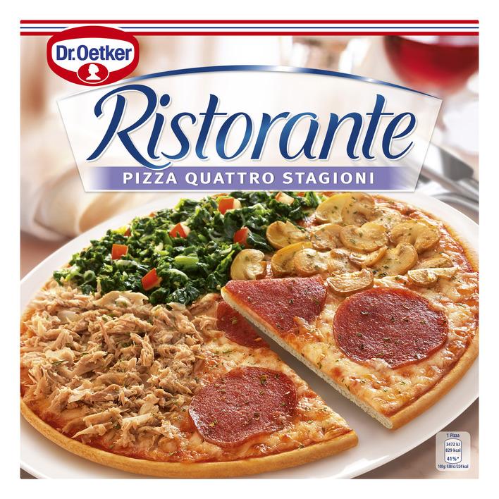 Dr. Oetker Ristorante pizza quattro stagioni
