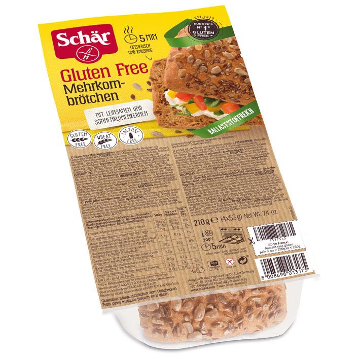 Schär Meergranenbroodjes glutenvrij