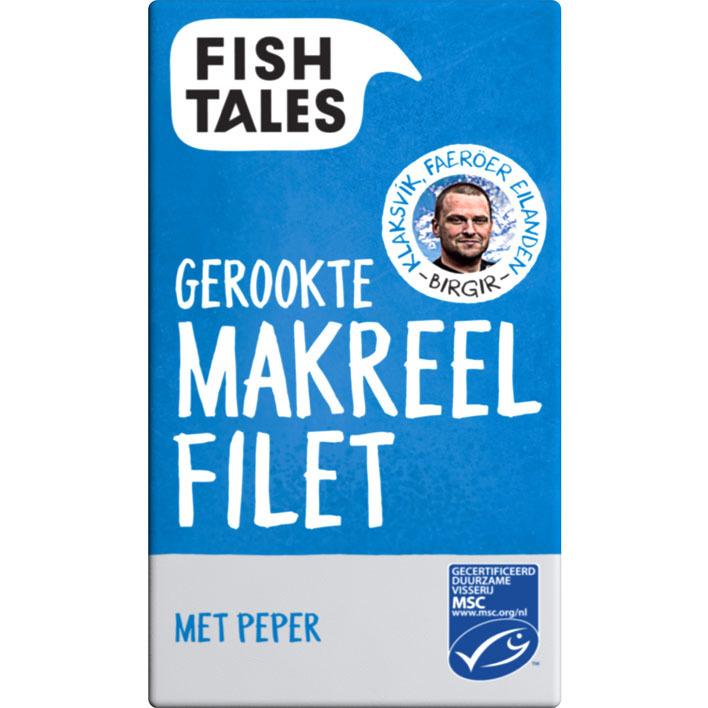 Fish Tales Gerookte makreelfilet met peper msc