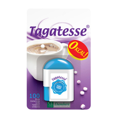 Damhert Tagatesse dispenser suikerbewust