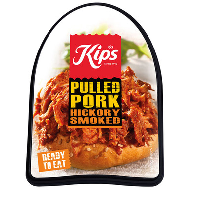 Kips Pulled pork hickory smoked
