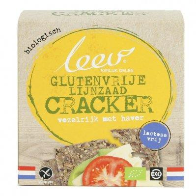 Leev Crackers havermout bio glutenvrij