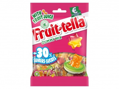 Fruittella Gummy mix -30% suiker