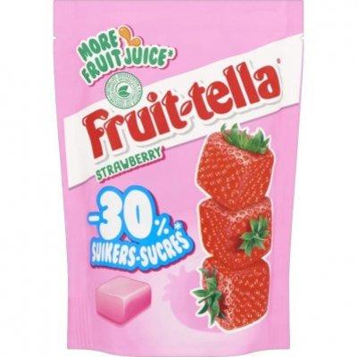 Fruittella Strawberry -30% suiker