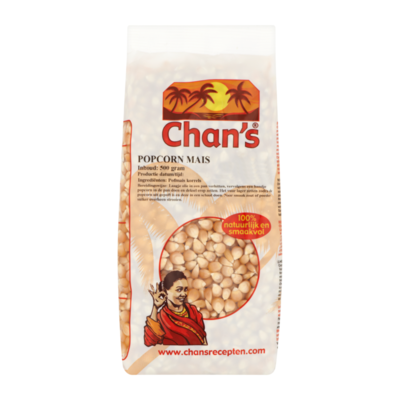 Chan's Popcorn Mais