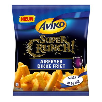 Aviko SuperCrunch airfryer dikke friet
