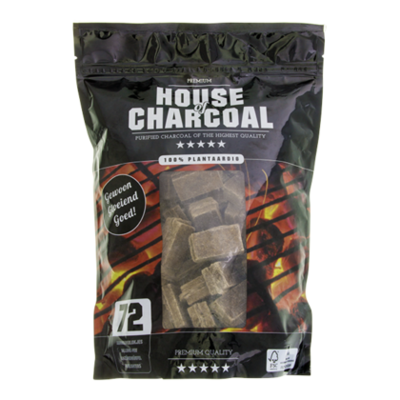 House of Charcoal Aanmaakblokjes bruin