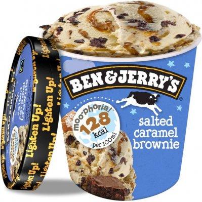 Ben & Jerry's IJs moophoria salted caramel brownie