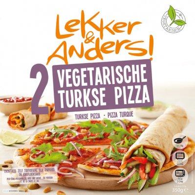 Lekker & Anders Turkse pizza vega