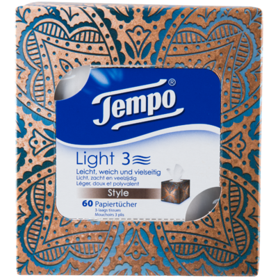 Tempo Light cube tissues 3 laags 3 laags