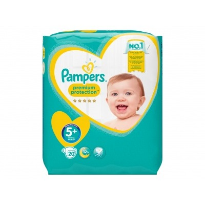 Pampers Premium protection junior+
