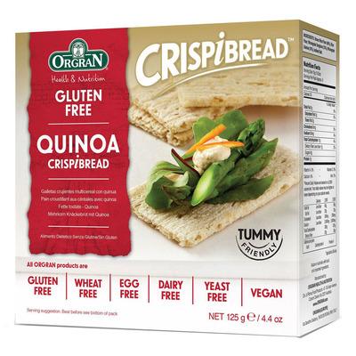 Orgran Quinoa crispy bread glutenvrij