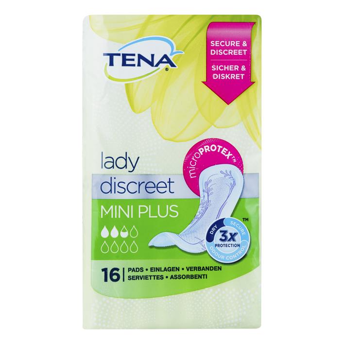 Tena Lady discreet mini plus verbanden
