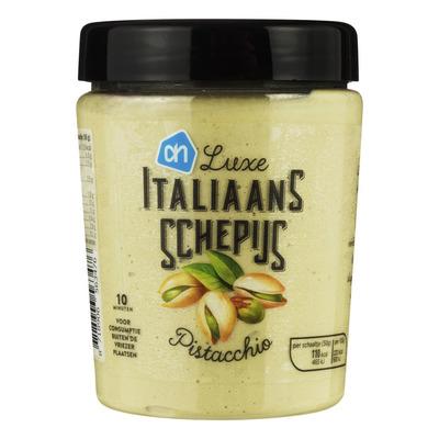 Huismerk Italiaans schepijs pistacchio