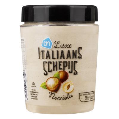 Huismerk Italiaans schepijs nocciola