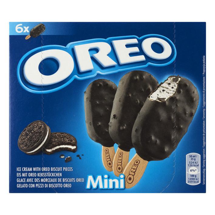 Oreo Ice cream with oreo biscuit mini