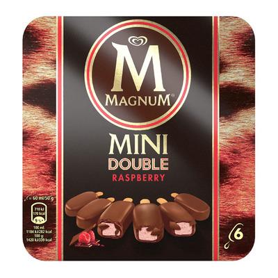 Magnum Double raspberry mini ijs