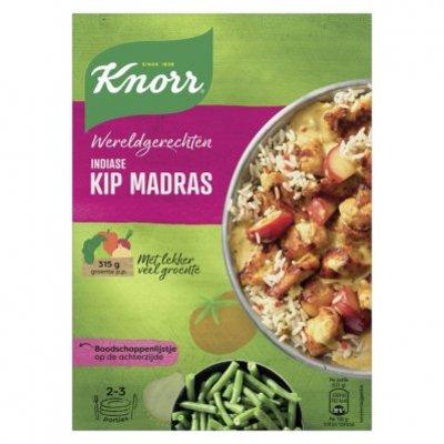 Knorr Wereldgerechten indiase kip madras