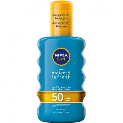 Nivea Sun Sun spray protect & refresh spf 50