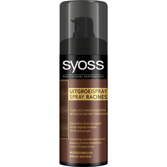 Syoss Uitgroei spray medium brown