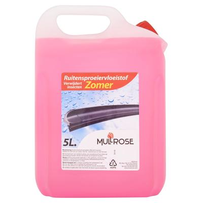 Mullrose Ruitensproeiervloeistof Zomer 5 L