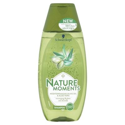 Schwarzkopf Shampoo natural moments Mediterranean olive oil & aloe vera