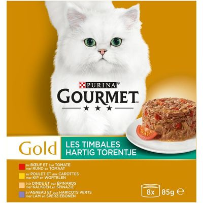 Gourmet Gold hartig torentje o.a. met rund