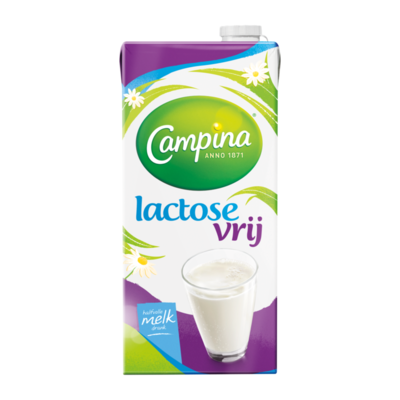 Campina Lactosevrije Melkdrank Houdbaar