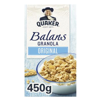 Quaker Cruesli balans naturel